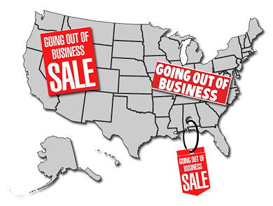 America Going Out of Business
