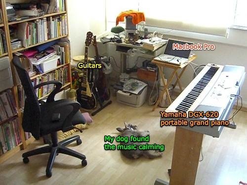 My home music studio 2007