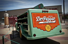 Dr. Pepper delivery truck