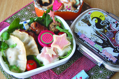 Christmas bento and furoshki