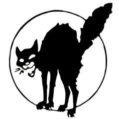 Anarchic cat by Ralph Chaplin