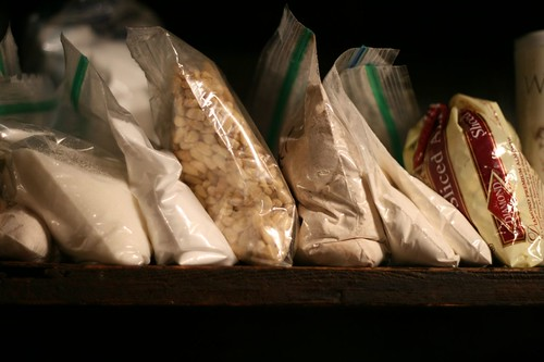 Baggies of dry ingredients