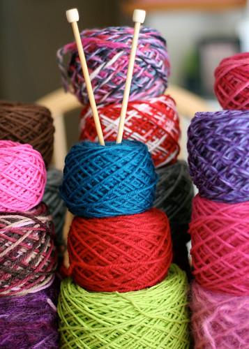 Wound yarn