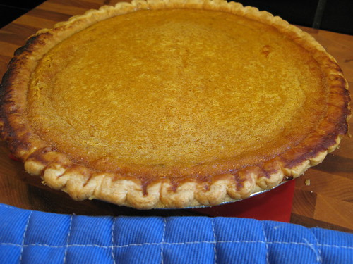 BEST pumpkin pie!