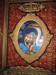 Vasudevar taking krishnar
