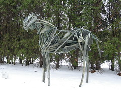 Butterfield Horse, Minneapolis, Minnesota, January 2008, photo © 2007 by QuoinMonkey. All rights reserved.