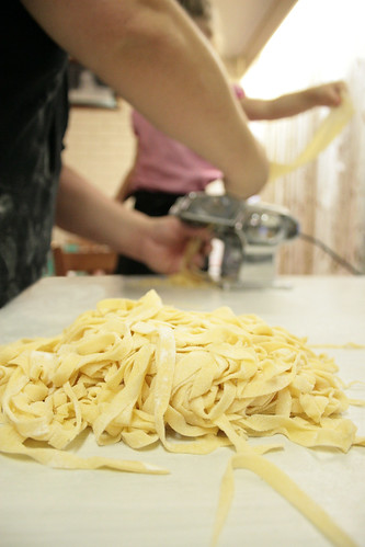 make-a the pasta
