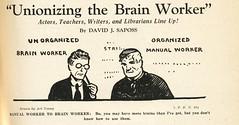 Unionizing the Brain Worker