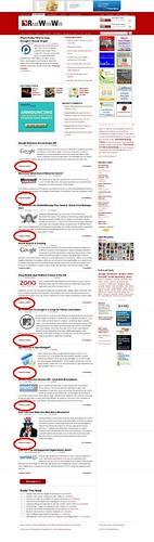 RWW - Pagina inicial  ofrece titulares con resumen pero sirve feeds completos
