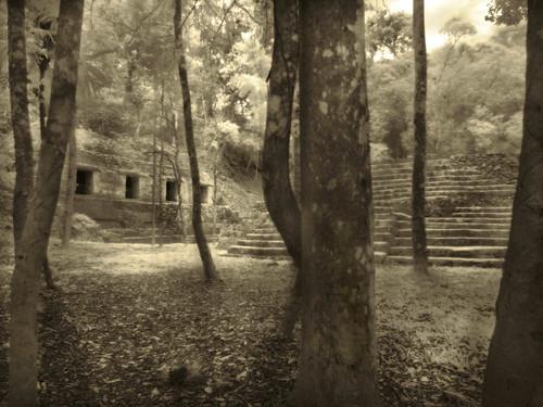 Yaxha Maya Ruins