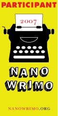 Official NaNoWriMo 2007 Participant