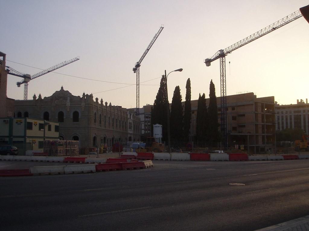 futura facultad de Derecho (en construcción)