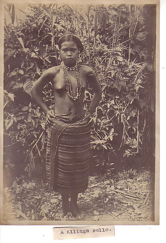 Kalinga Girl, Philippines 1911 indigenous tribe tribal  Philippine Buhay Pinoy Noon old pictures photograph black and white Philippines  Filipino Pilipino  people photos life Philippinen