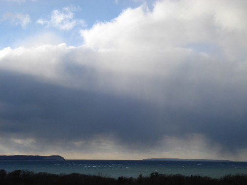 Storm over the passage