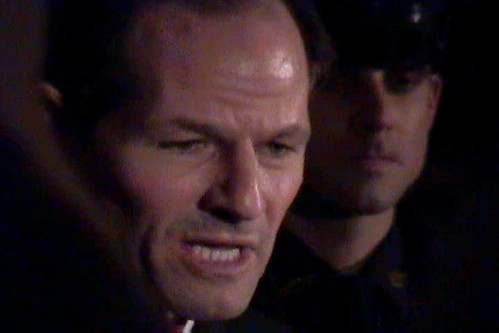 Former Governor Eliot Spitzer of New York, a month before the world crashed in on him, February 2008 (Courtesy: J.P. Wauthier)