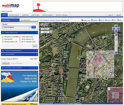 Multimap Homepage
