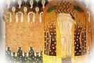 Gustav Klimt. Parte del mural del Friso Beethoven, 1902.