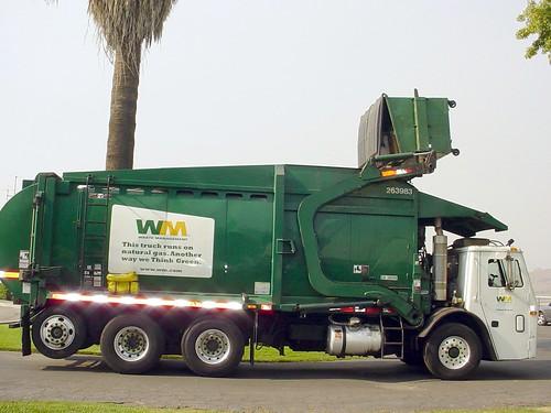 Trash Truck at Work by Ken McCrimmon.