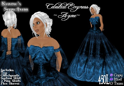Celestial Empress - Azure - Ad