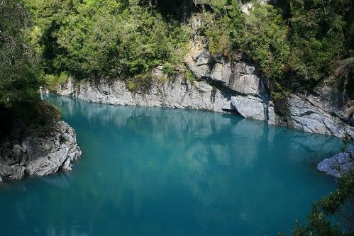 Water in Hokitika Gorge