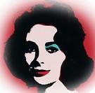 Andy Warhol, Liz Taylor. 1963.