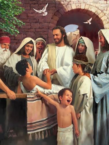 Jesus cura um paral�tico