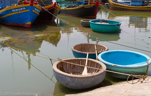 Phan Tiet Fishing Harbour