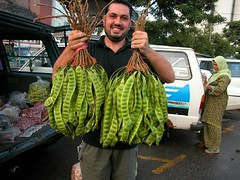 Petai (Prof KMS) Tags: frutas hijab Mercado fabaceae vegetales leguminosas petai speciosa Mimosoideae Parkia