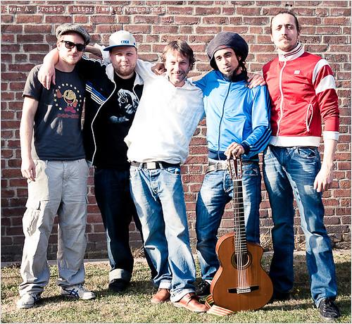 Philip Breidenbach, Moses Christoph,Sensi Ryder, Sebastian Sturm & Daniel 'Danger Dan' Pongratz