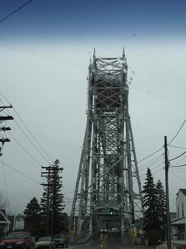 Duluth Aerial Bridge, Duluth, Minnesota, April 2007, photo © 2007 by QuoinMonkey.<br>  All rights reserved.