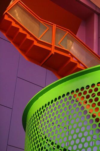"""green, purple, orange, & pink"" by lizjones112"