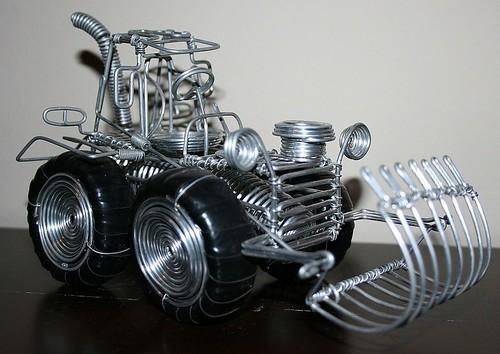 Tractor de alambre