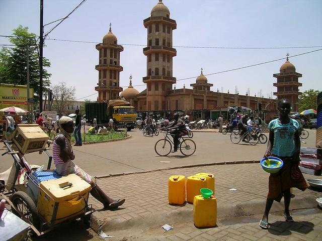 la mosque de Ouagadougou