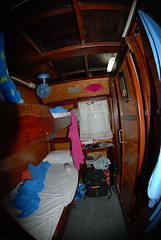 19. Our cabin aboard the MV Amarpon, our scuba diving liveaboard ship