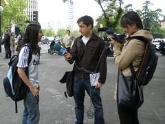 elmundo.es fue uno de los 5 medios que entrevistó a Andrea