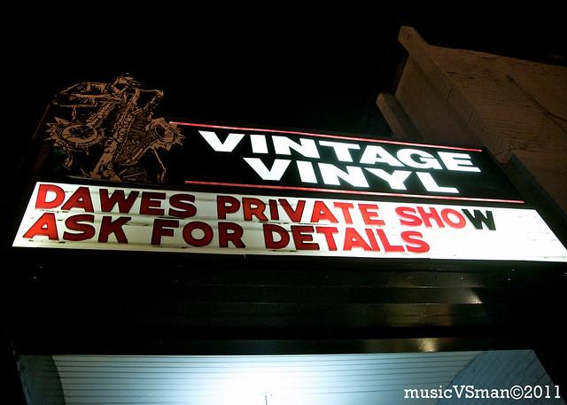 Dawes @ Vintage Vinyl