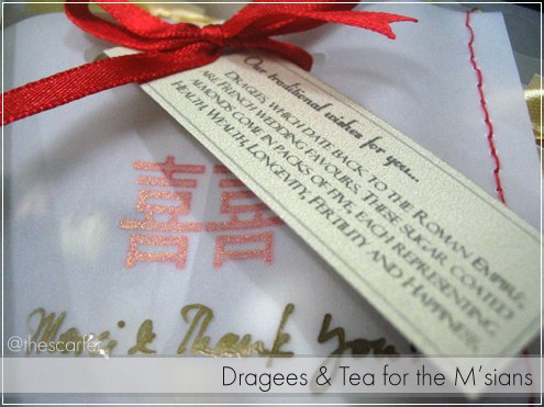 Dragees & Tea for the M'sians