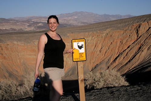 Some big crater, Death Valley Calif.