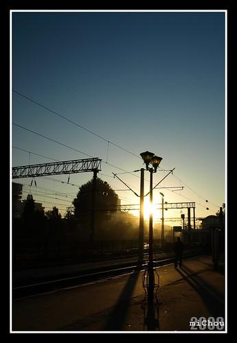 Răsărit cu cale ferată