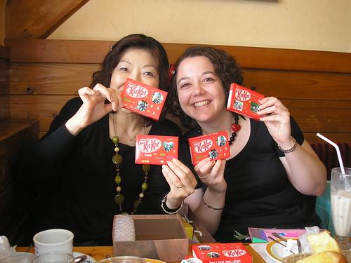 Kit Kats from Kazue