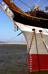 """San Francisco - Hyde Street Pier """"Balclut..."""