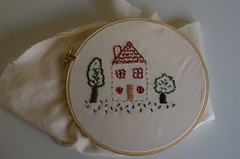 My second embroidery