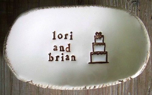 Our wedding ring dish