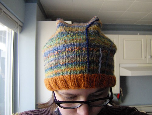 1970's ski sweater hat