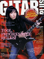 Cover majalah Gitar plus