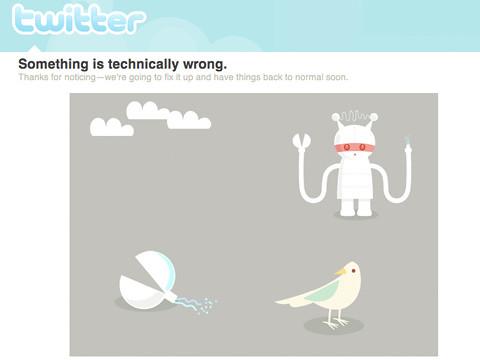 Twitter: Service Down