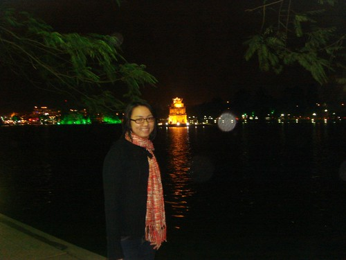 The sword lake in Hanoi