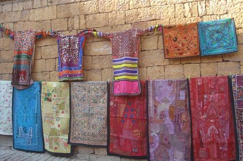 Jaisalmern Fort1-5當地手工藝品