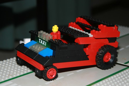 Taxi 4 Handicapped - Front