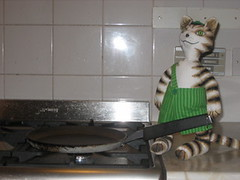 Findus in the kitchen